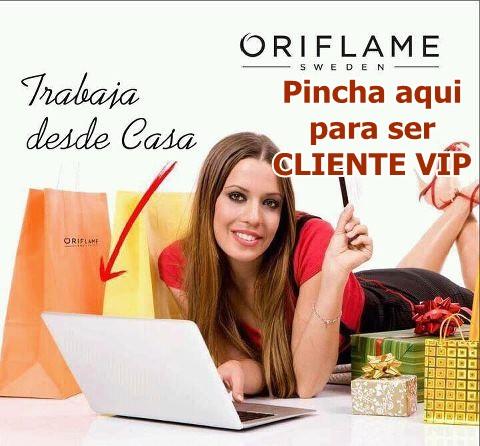 trabaja desde casa Oriflame