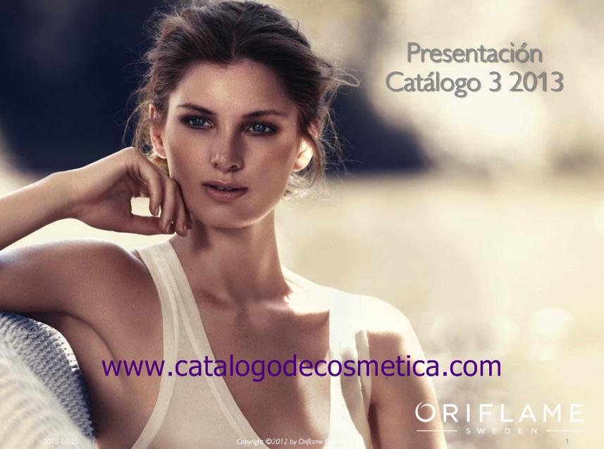 Oriflame, vídeo presentación del catalogo 3