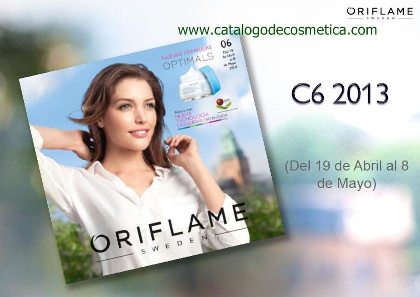 Vídeo presentación del catalogo 6 de Oriflame