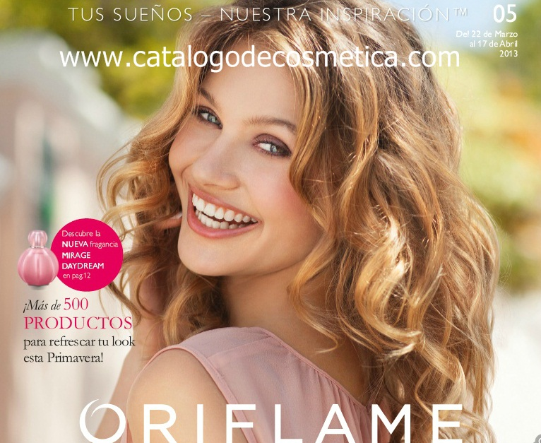 Oriflame, vídeo presentación del catalogo 5