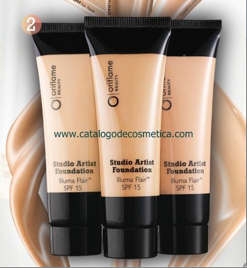 Oriflame, maquillaje Studio Artist