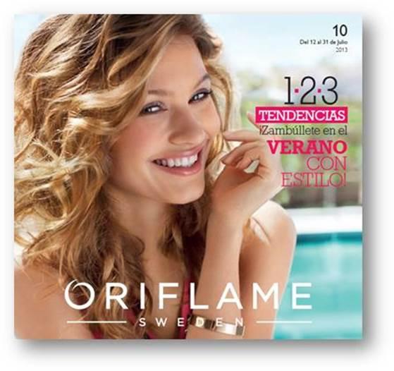 Bienvenido catalogo 10 de Oriflame