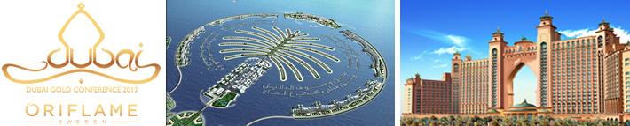 Conferencia Oro Oriflame Dubai 2013