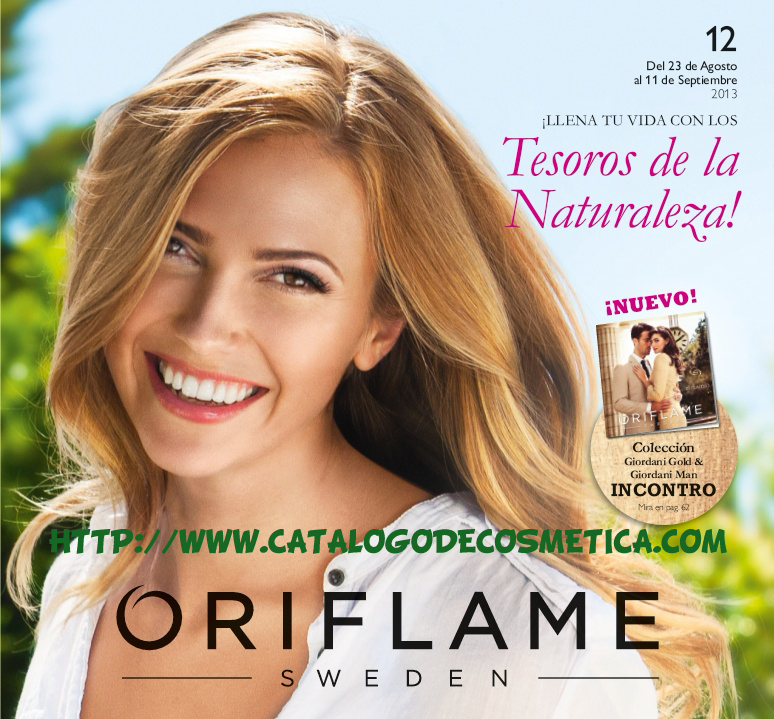 Nuevo catalogo 12 de Oriflame