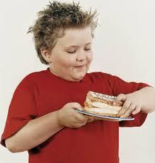 Los niños, obesidad y dieta