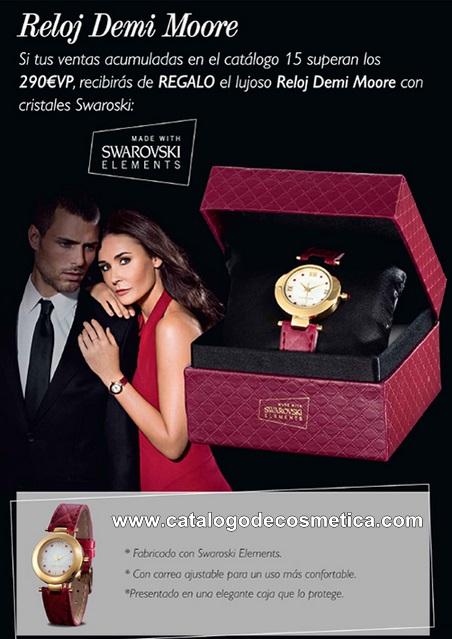 Oriflame te regala el reloj de Demi Moore