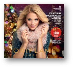 Vídeo de lanzamiento del catalogo 16 de Oriflame