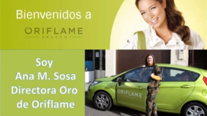 Vídeo de presentación para las nuevas clientes vip de Oriflame