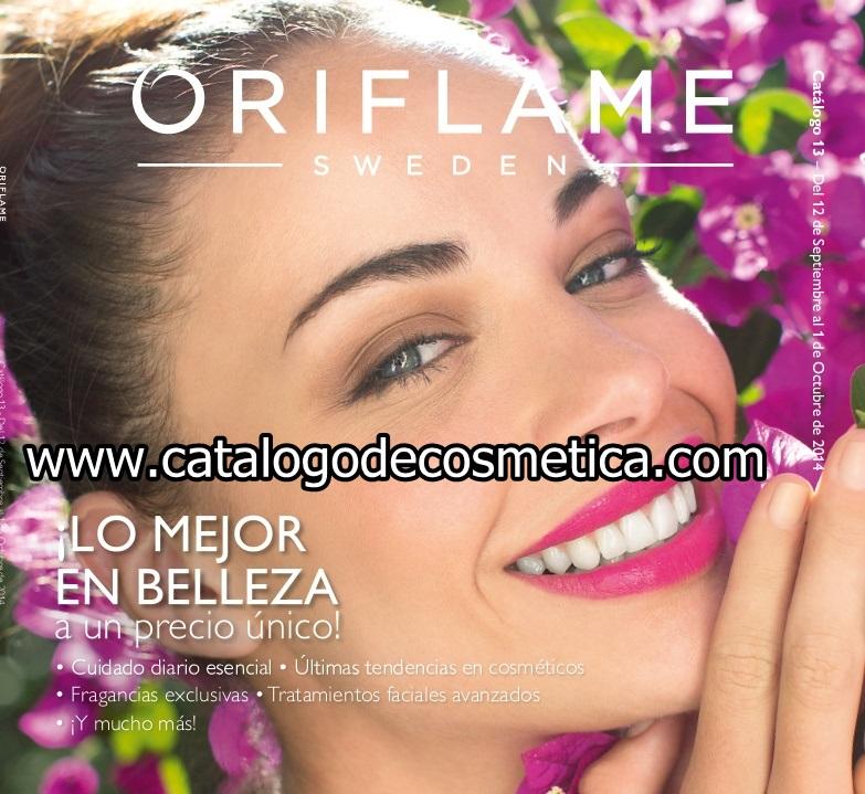 Oriflame, vídeo de presentación del catalogo 13