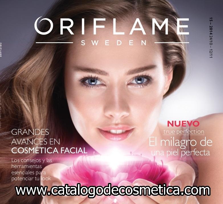 Oriflame, vídeo de presentación del catalogo 15 de Oriflame