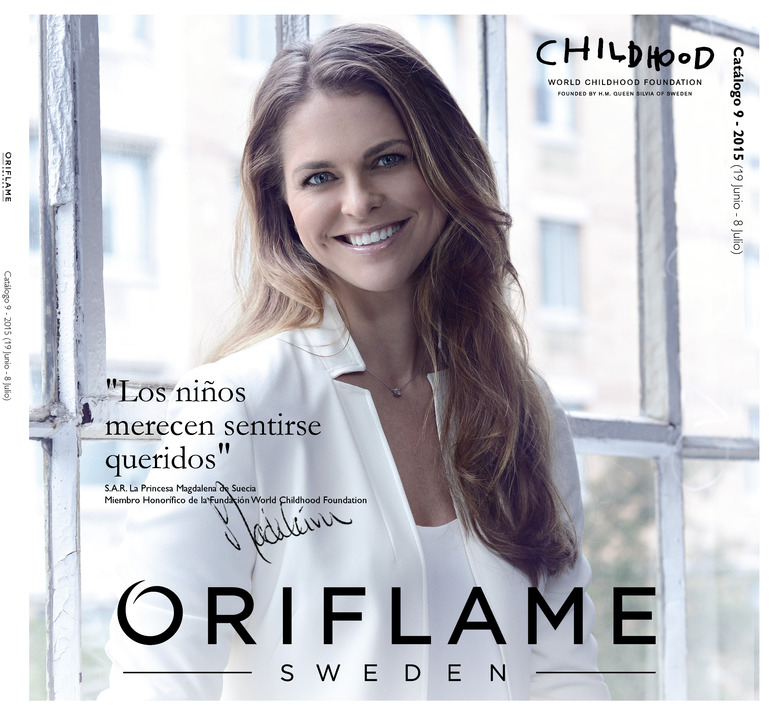 Vídeo de presentación del catalogo 9 de Oriflame