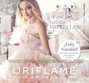 portada del catalogo 17 de Oriflame