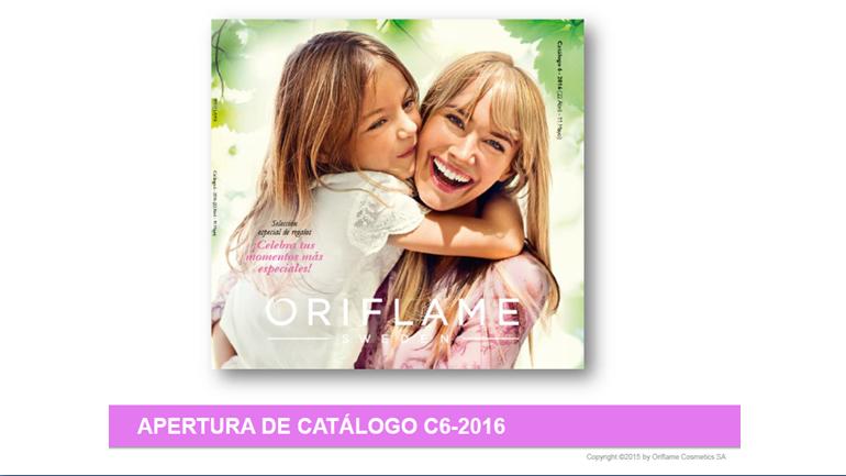 Vídeo de lanzamiento del catalogo 6 de Oriflame