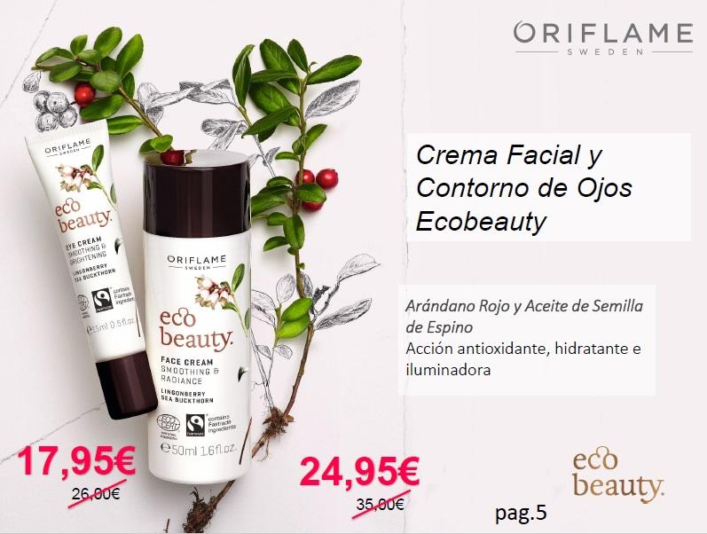 cosmética ecológica Oriflame