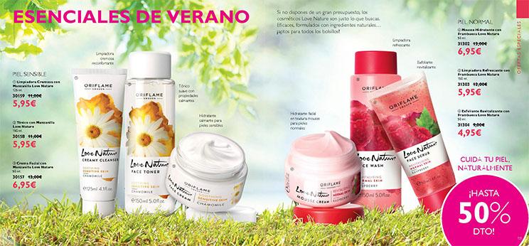 Oriflame, cosmética de verano