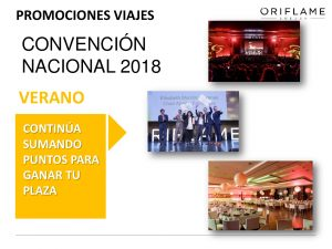 convencion nacional oriflame 2018