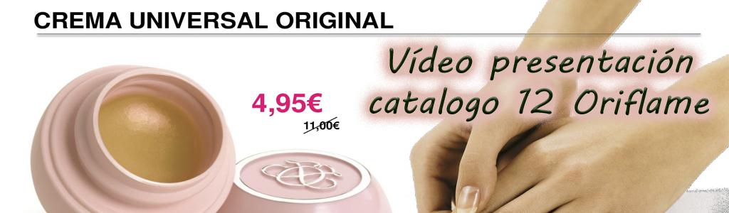 Video presentacion catalogo 12 Oriflame