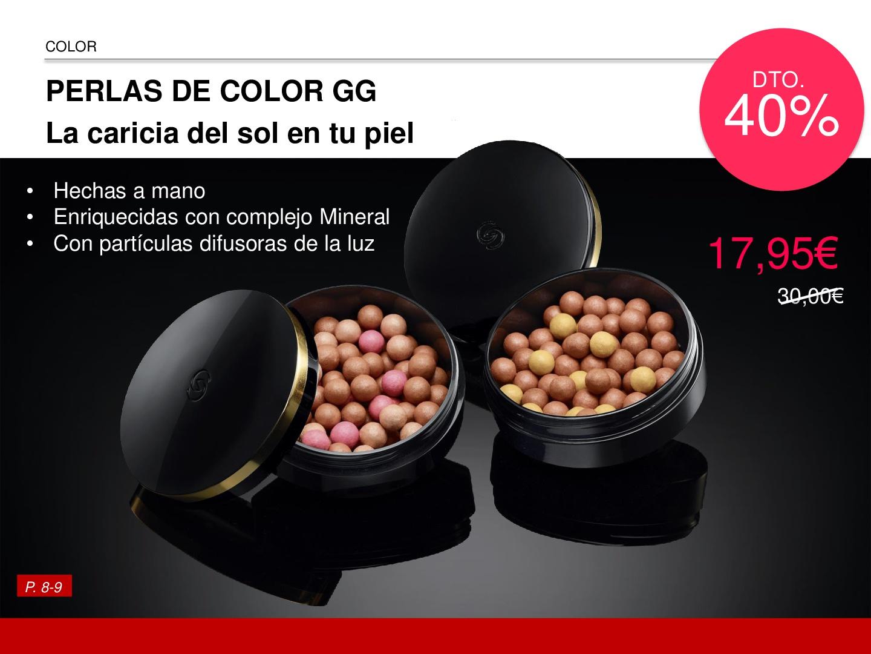 Perlas de color Giordani Oriflame