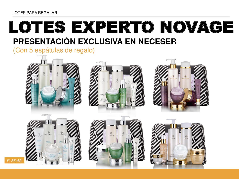 lotes experto en cuidado facial NovAge
