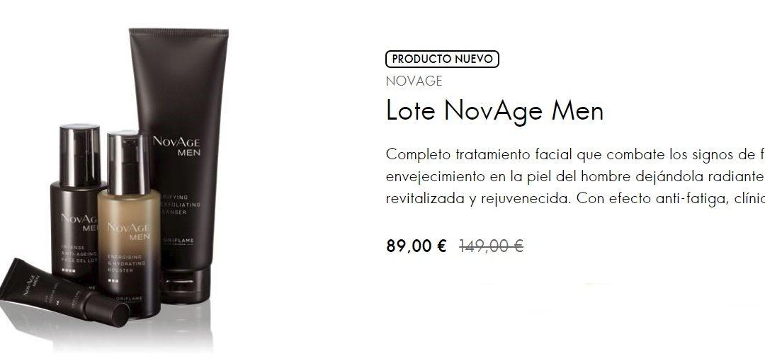 NovAge Men, la nueva línea de cuidado facial para el hombre Oriflame