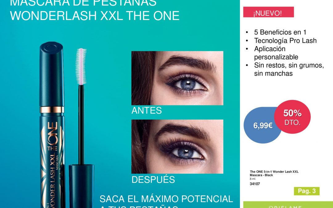 mascara de pestañas Wonderlash XXL