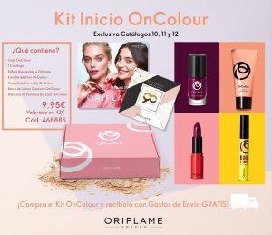 kit de inicio on colour Oriflame